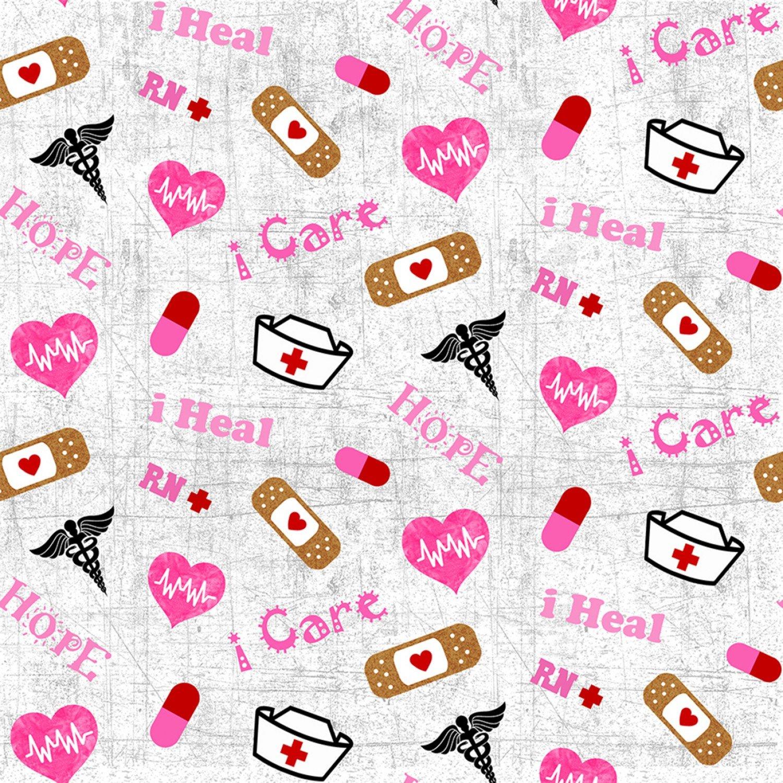 Sykel-Nurse Cotton 10302 Tossed Nurse