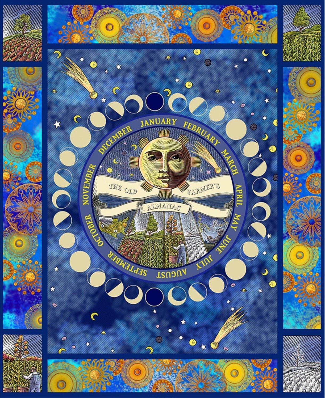 SF-Old Farmers Almanac Celestial 10330-OFA Celestial 36 x 44 Panel