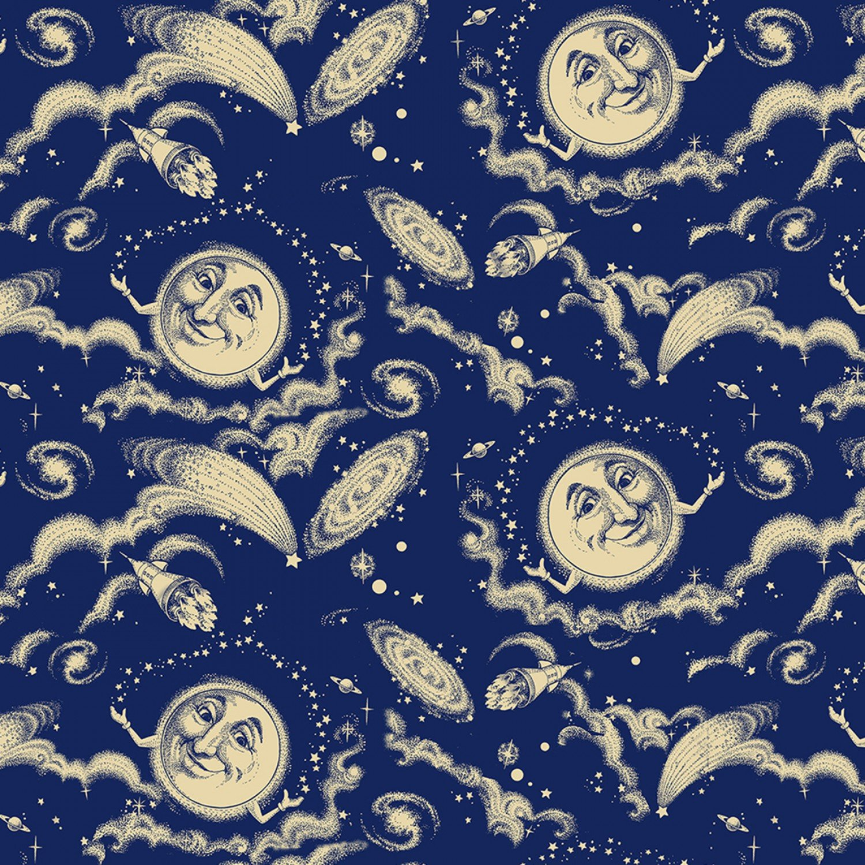 SF-Old Farmers Almanac Celestial 10333-OFA Moon in Sky