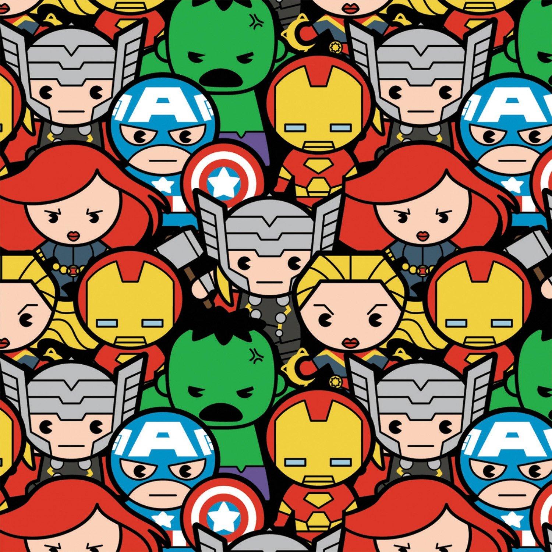 PROMO* CF-Marvel Kawaii 13020701-01 Multi - Avengers Assemble