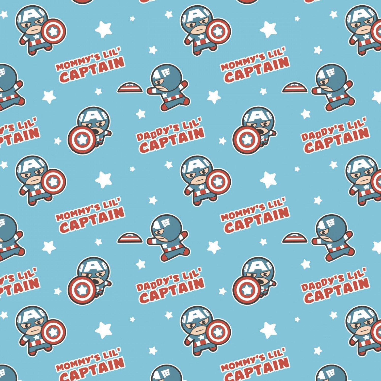 CF-Character Nursery 13021054-01 Blue - Mommy's Little Captain