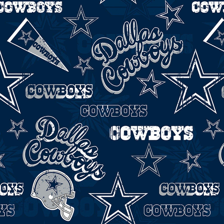 FT-NFL Cotton 14443 Dallas Cowboys