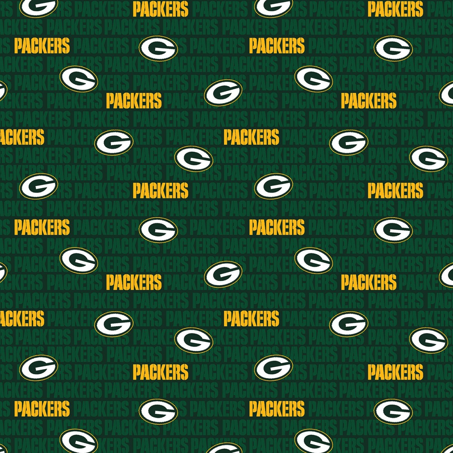 FT-NFL Cotton 14494-D Green Bay Packers