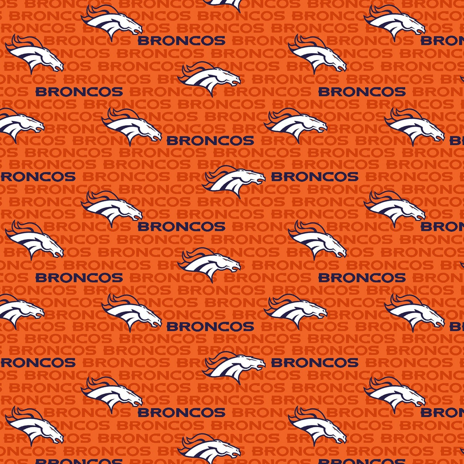 FT-NFL Cotton 14501-D Denver Broncos