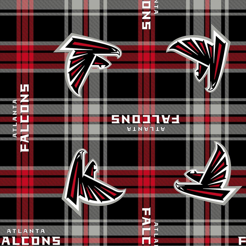 FT-NFL Fleece 14717 D Atlanta Falcons Plaid