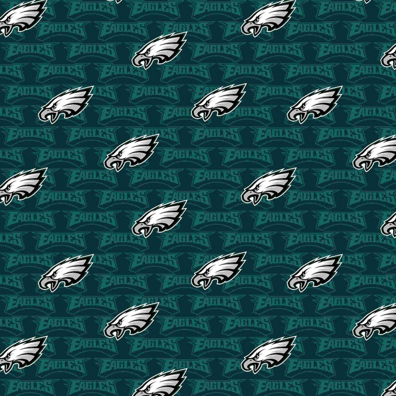 FT-NFL Cotton 14735-D Philadelphia Eagles