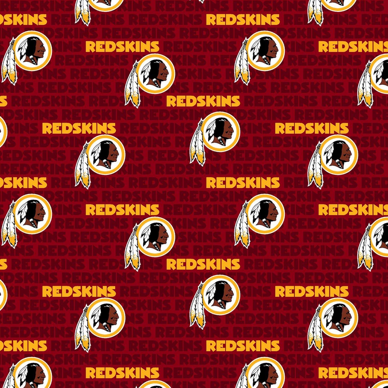FT-NFL Cotton 14737-D Washington Redskins