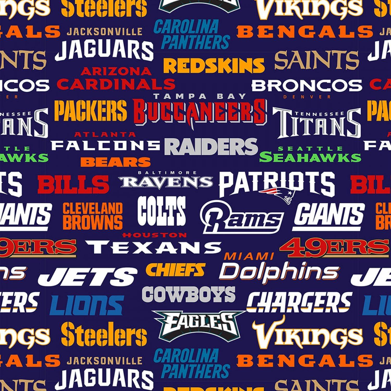 FT-NFL Fleece 14872 D All NFL Teams