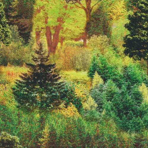 FQ-Bright Forest 148-14181 Digitally Printed