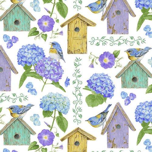 HG-Hydrangea Birdsong 1757-17 Multi - Birdhouses