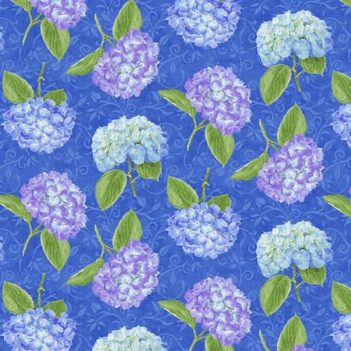 HG-Hydrangea Birdsong 1760-77 Blue - Tossed Hydrangeas