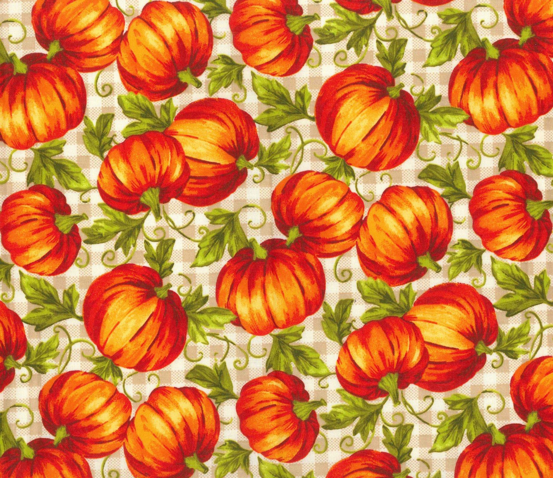 FT-Fall Holidays 17818-C Leafy Pumpkins