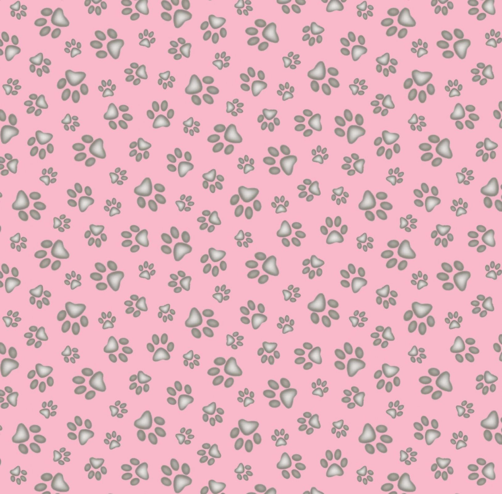 ES-Best Friend 181 Pink - Paw Print
