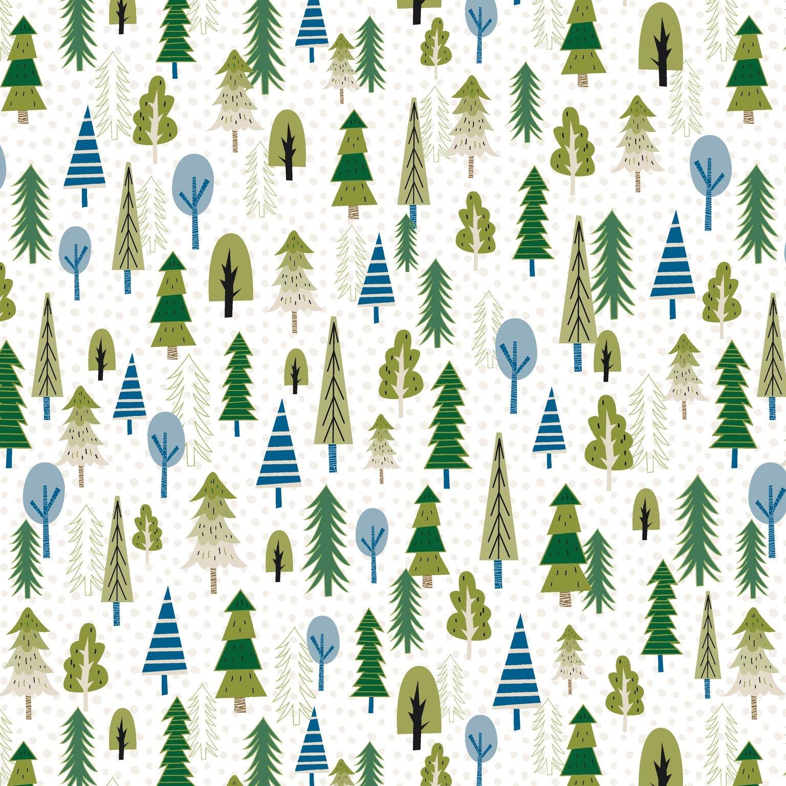 HG-Loving Camp Life 184-6 Multi - Trees