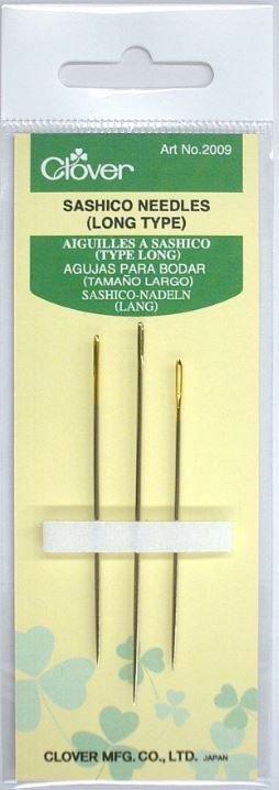 Clover - 2009 Sashico Needles (Long Type)