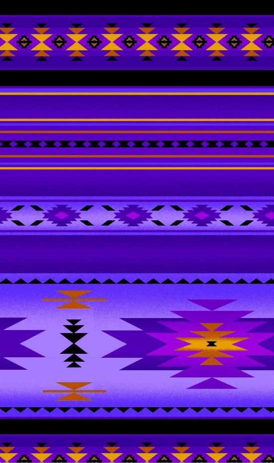 ES-Tucson 201 Blanket Stripe - Purple