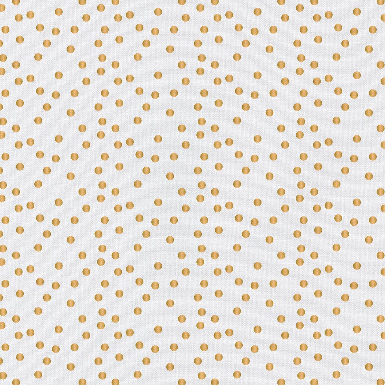 PROMO* CF-Nightfall w/Metallic 2141111WM-02 White w/Gold - Confetti Dots