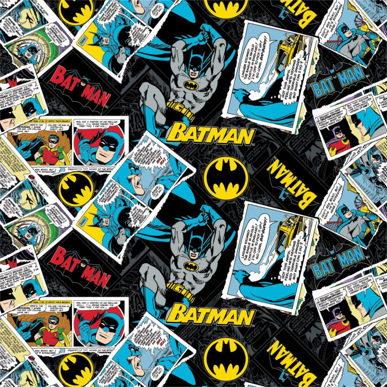 PROMO* CF-Batman (80 Years) 23200119-03 Collage in Black