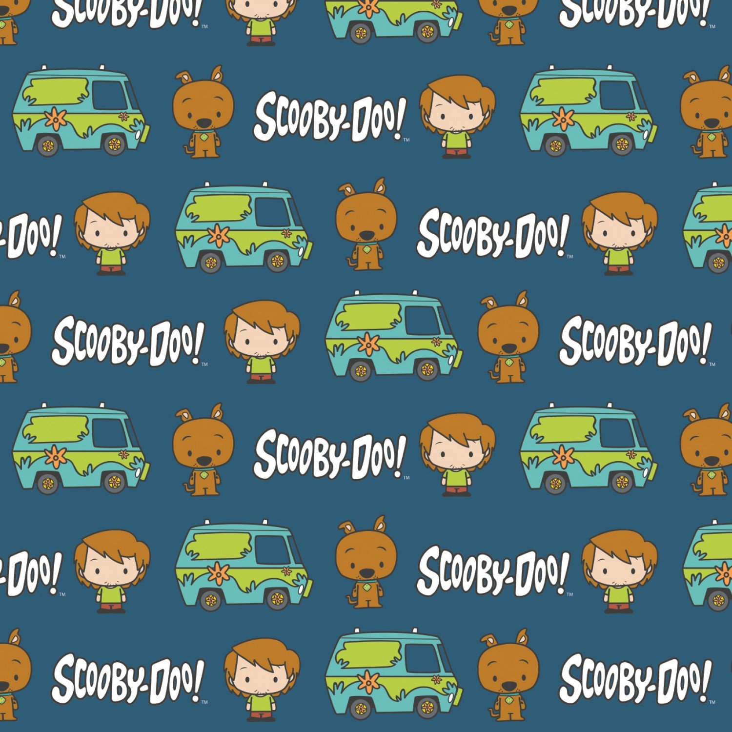 CF-Scooby-Doo Chibi Collection 23700521-03 Navy - SD Chibi Best Pals