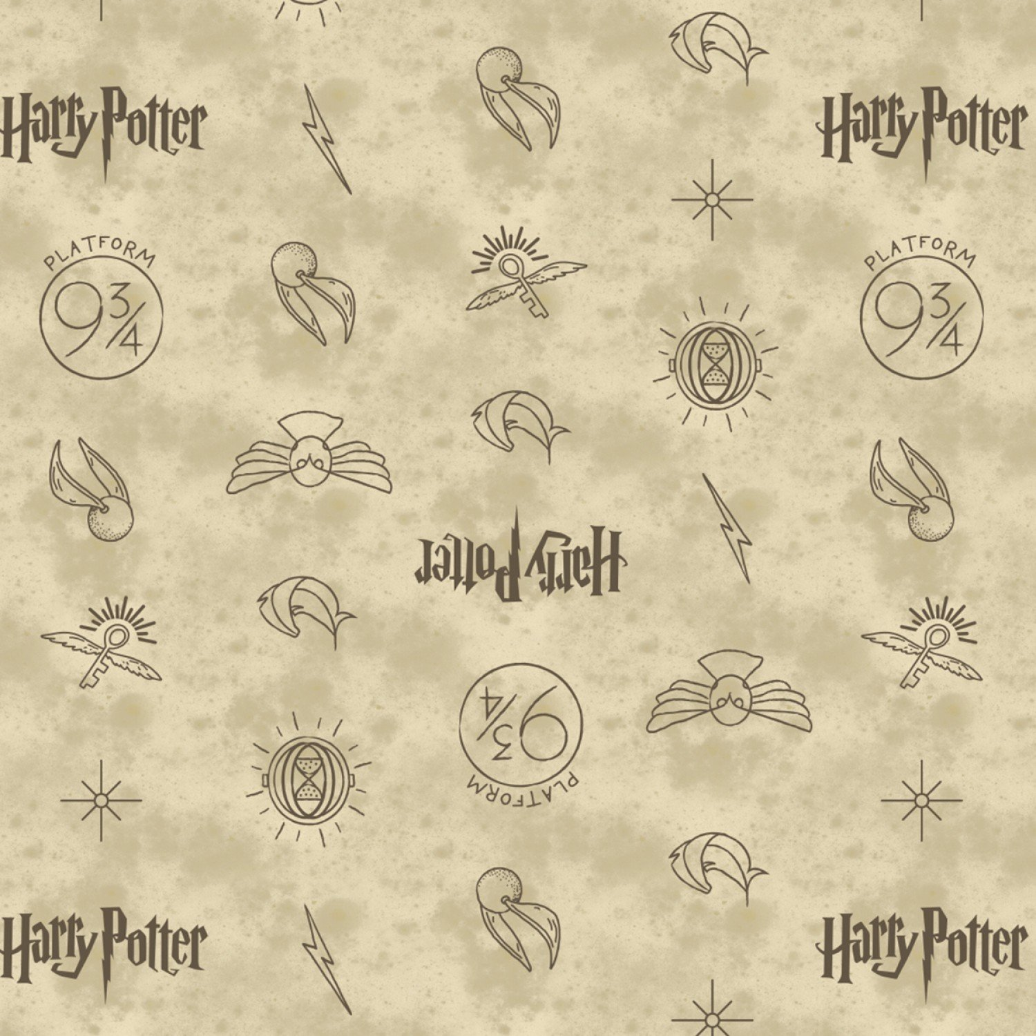 Cf Harry Potter 23800137 01 Hp Symbols In Dark Cream