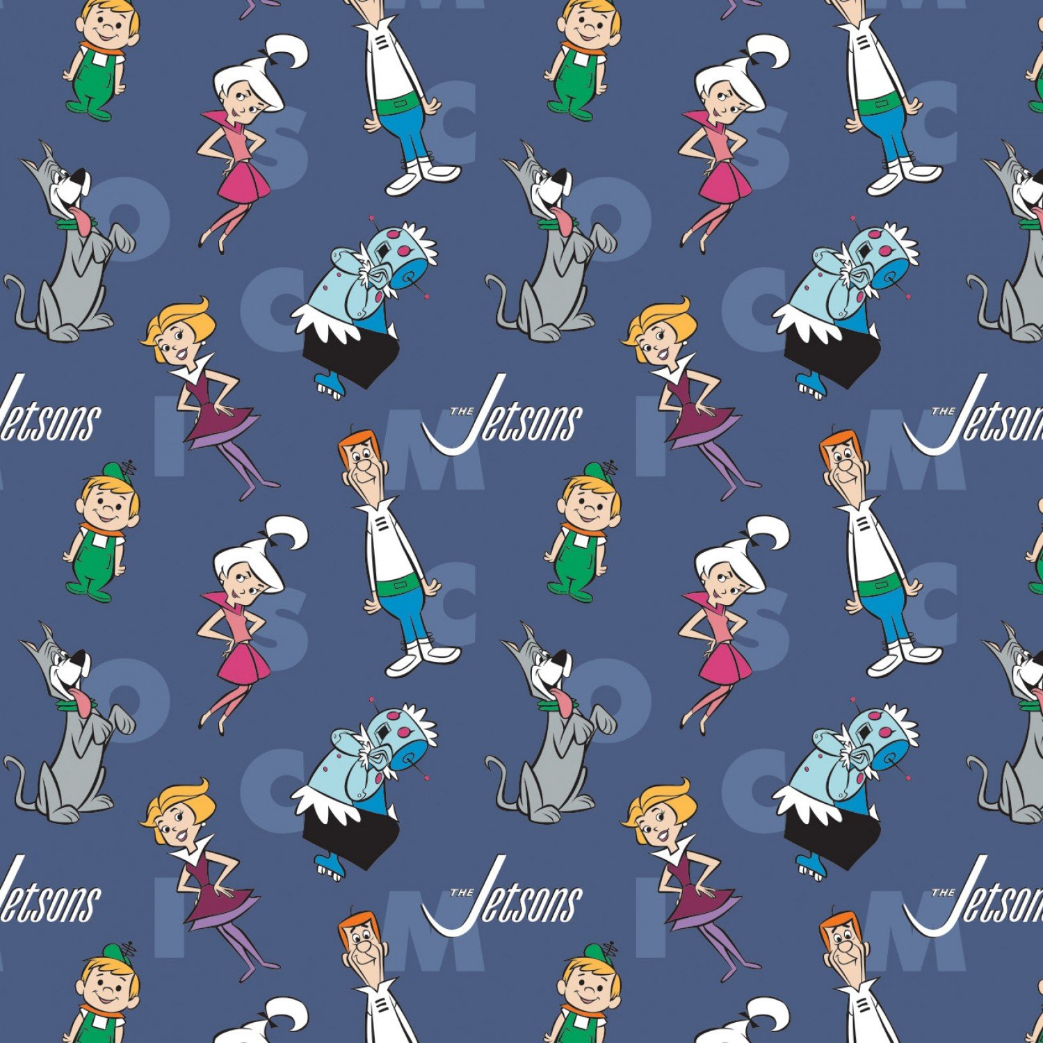 CF-The Jetsons 24080301-01 Blue - Characters & Letters