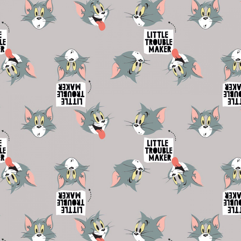 CF-Tom & Jerry - Cute & Cranky 24160111-02 Light Grey - Tom Cranky Cat