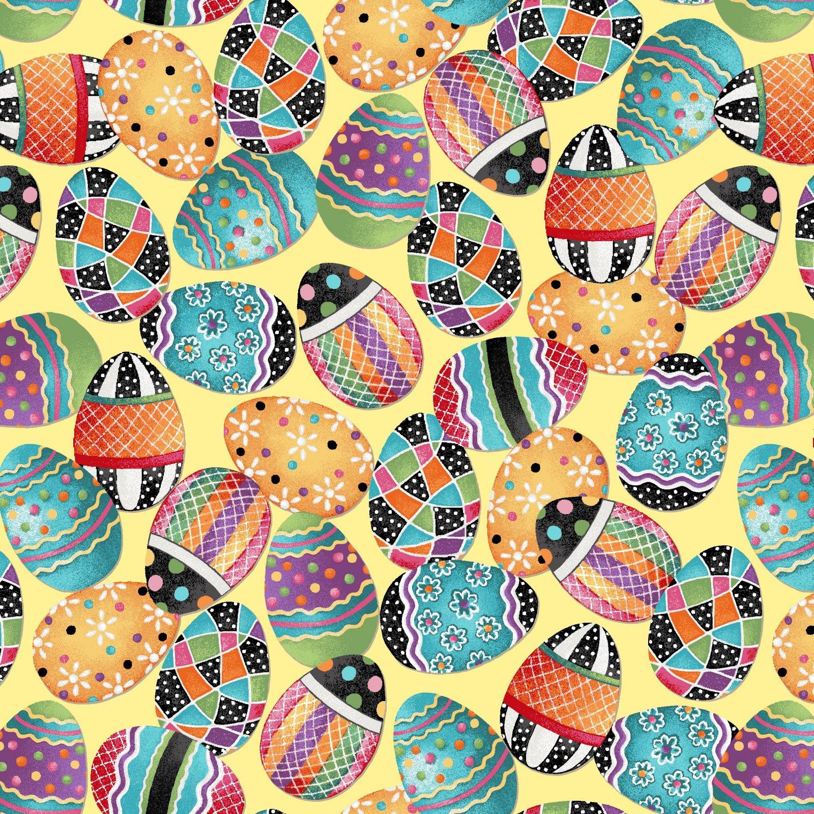 HG-Easter Fun 2570-44 Yellow - Easter Egg Toss