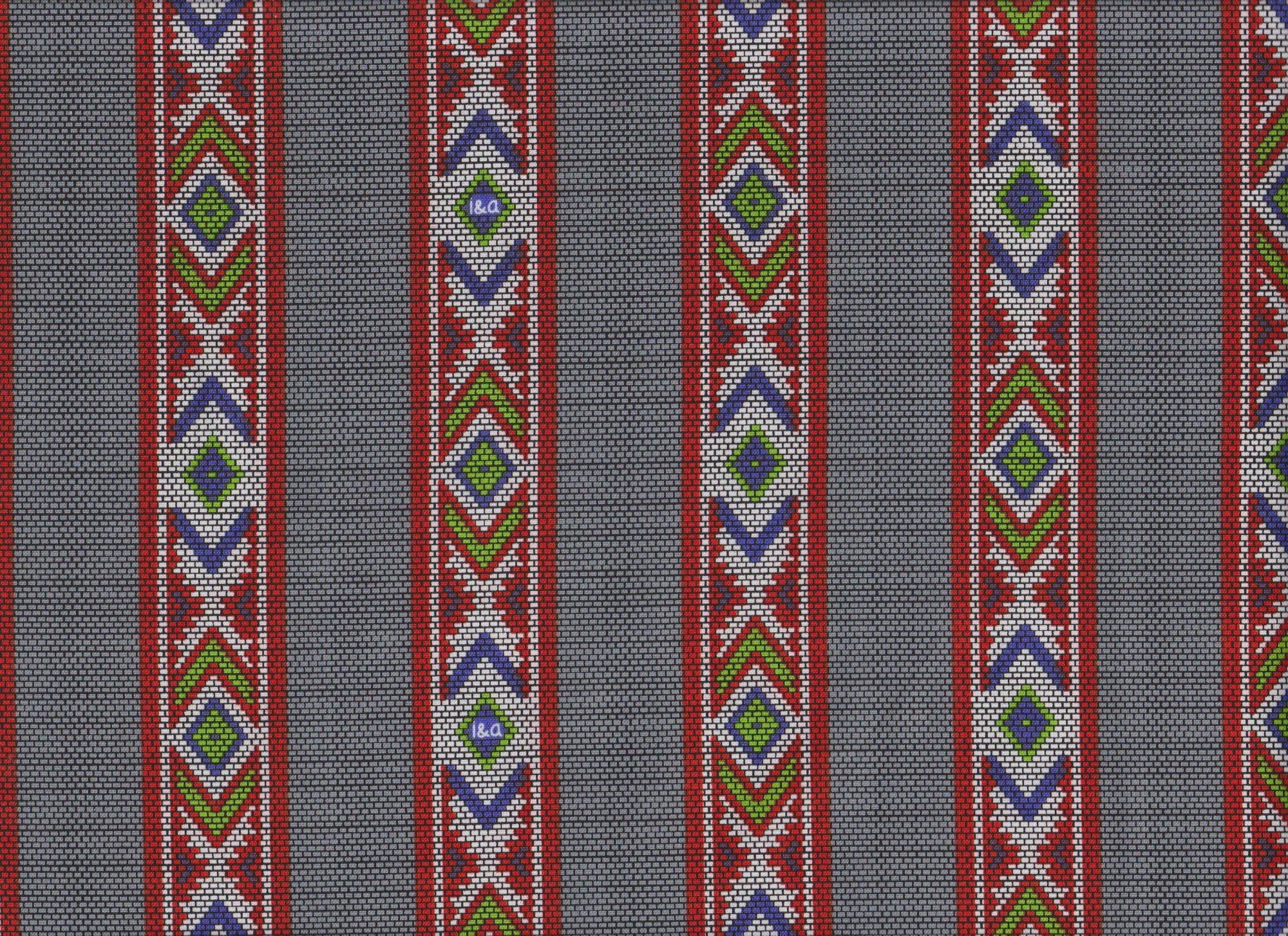 PROMO* QT-Ink & Arrow Indian Paintbrush 26138-K Tribal Stripes - Grey