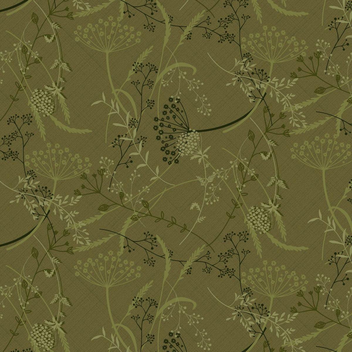 HG-Blessings of Home 2682-66 Green - Dandelion