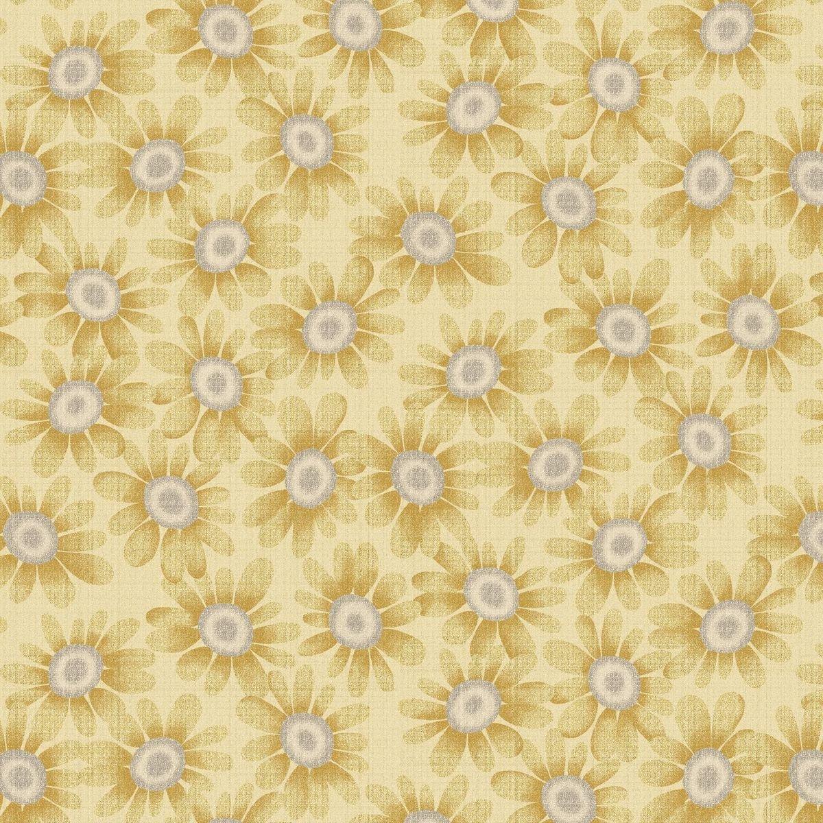HG-Blessings of Home 2683-44 Lt Gold - Sunflowers