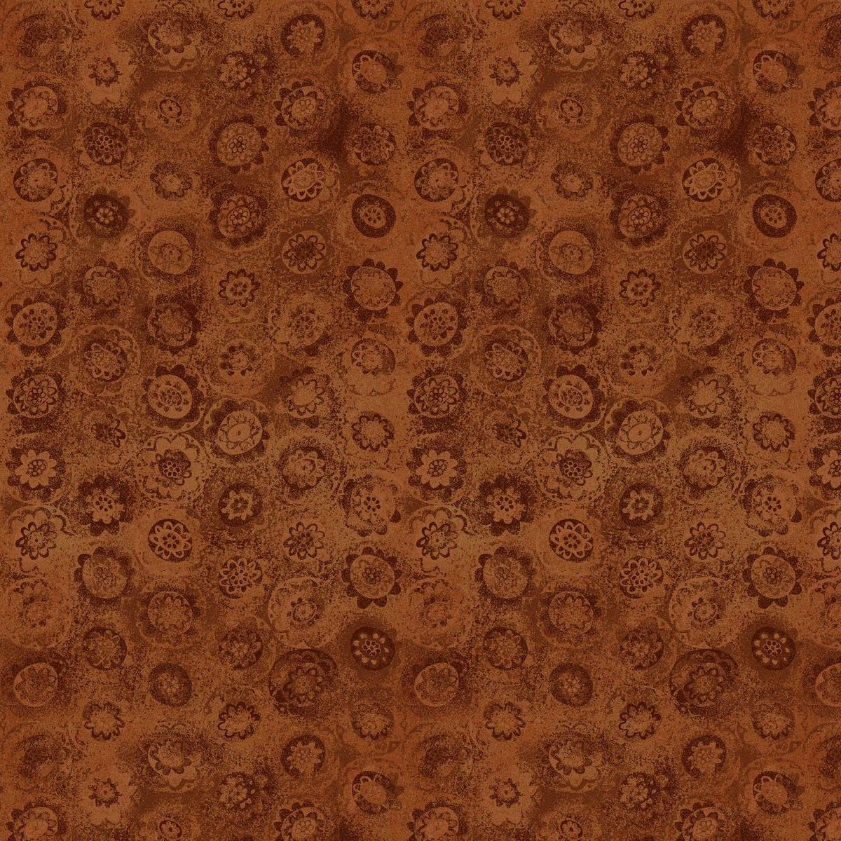 HG-Blessings of Home 2686-35 Orange - Monotone Sunflowers