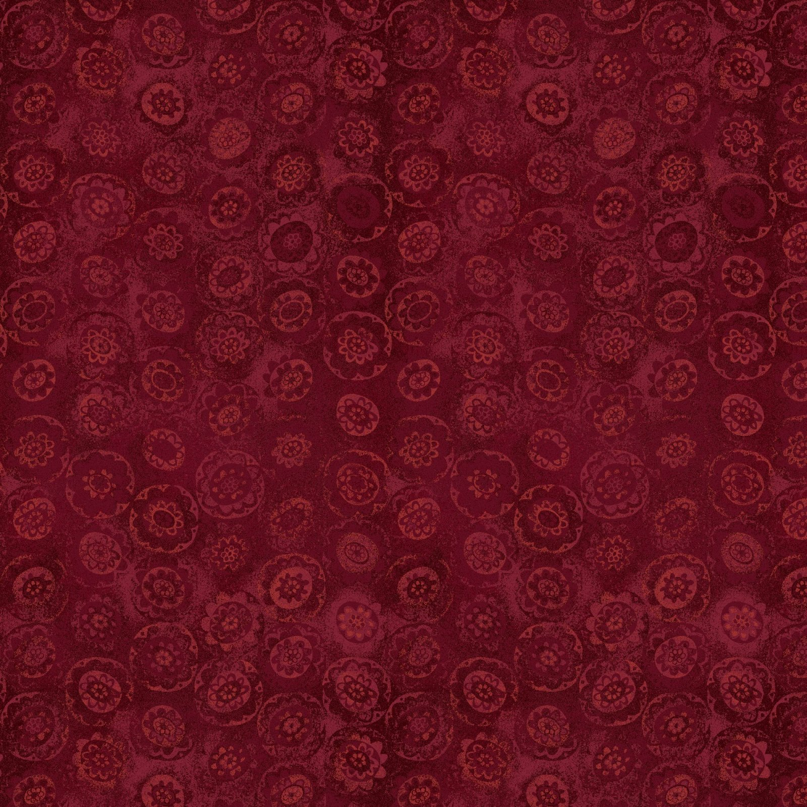 HG-Blessings of Home 2686-88 Red - Monotone Sunflowers