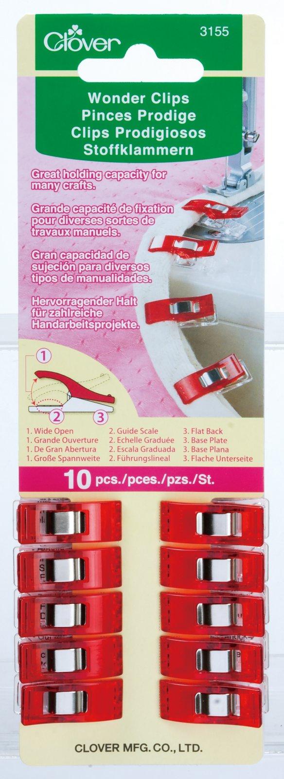 Pack of 10 Clover Wonder Clips