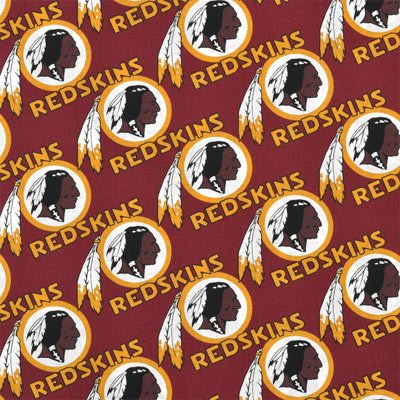 FT-NFL Cotton 3528-D Washington Redskins