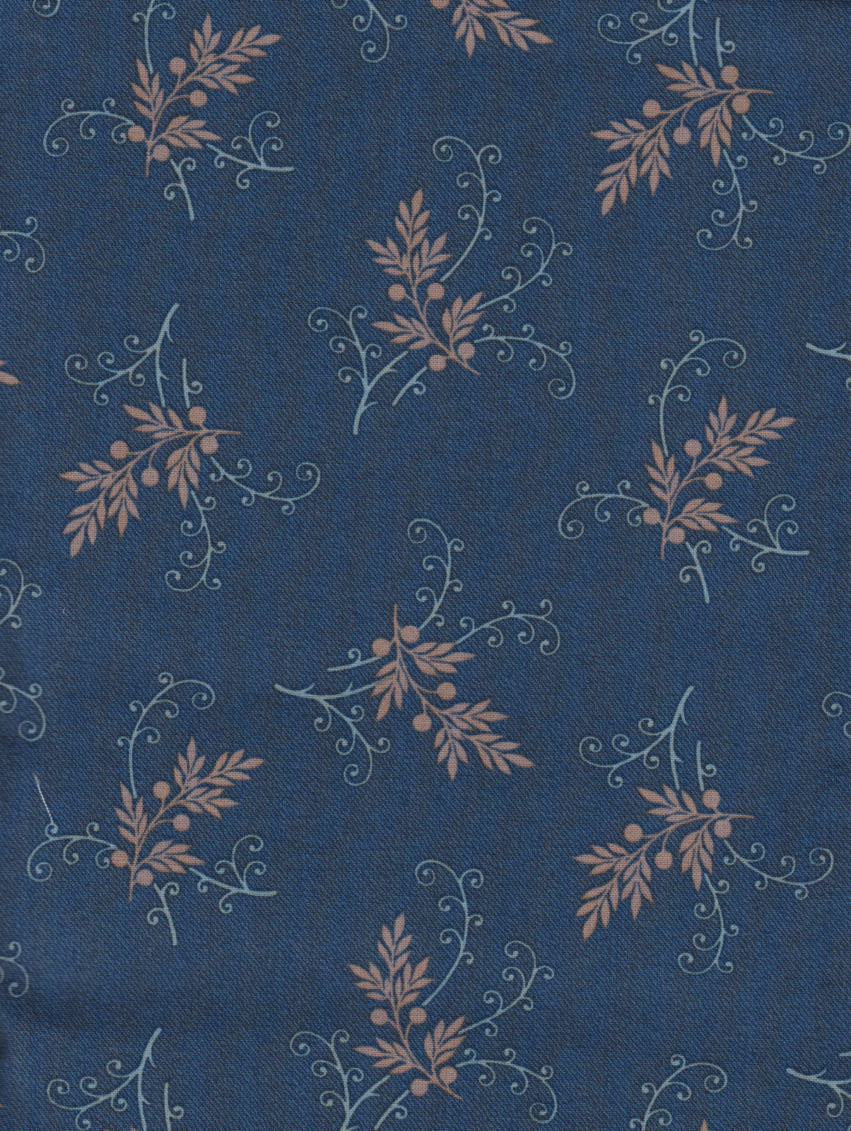 PROMO* Boundless Pre Cuts - 41627 Navy Scroll