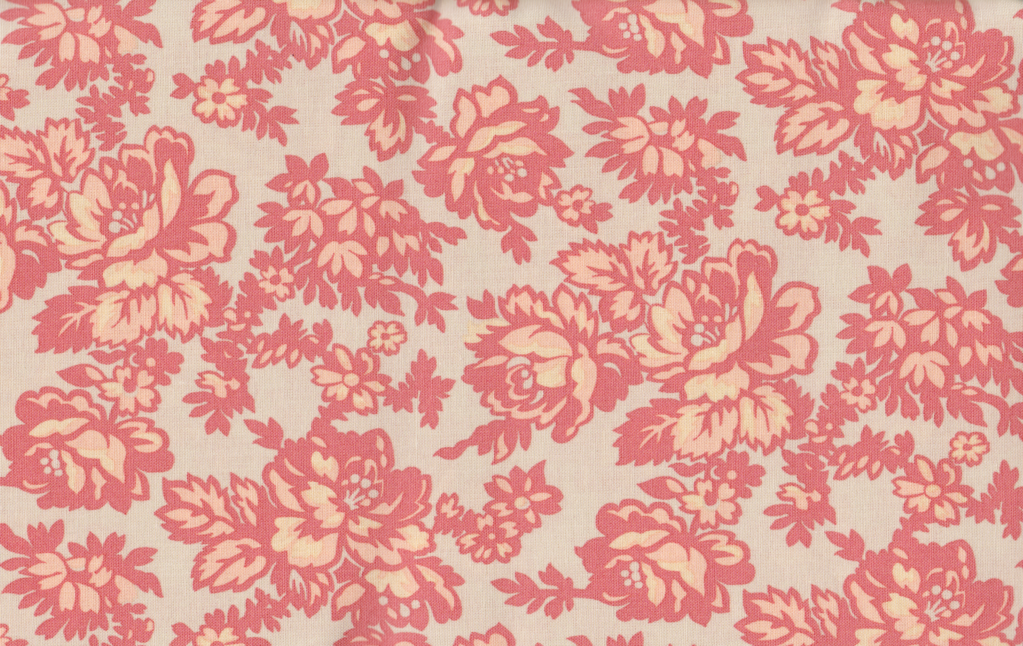 PROMO* Boundless Pre Cuts - 42903 Coral Damask Floral