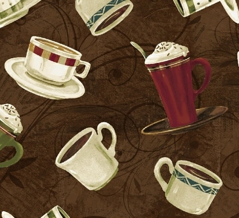 WF-International Coffee 43259-1 Brown Coffee Cups