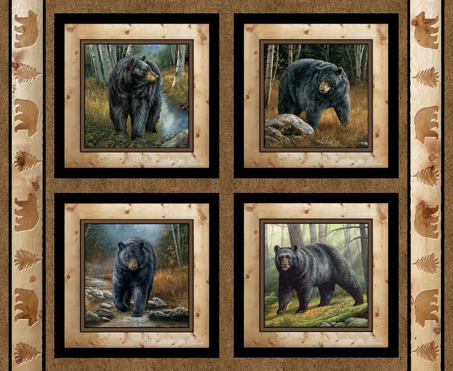 SC-Wild Wings Reluctant Companion 49470 Pillow Panel