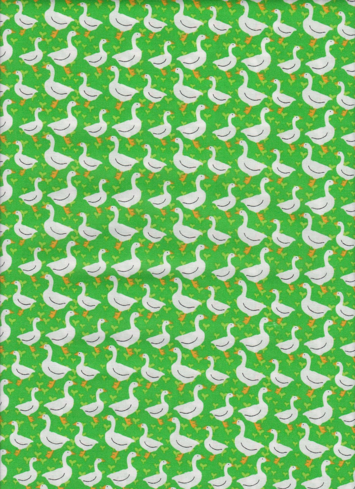 PROMO* FT-Children's Prints 49701 Green - Silly Goose