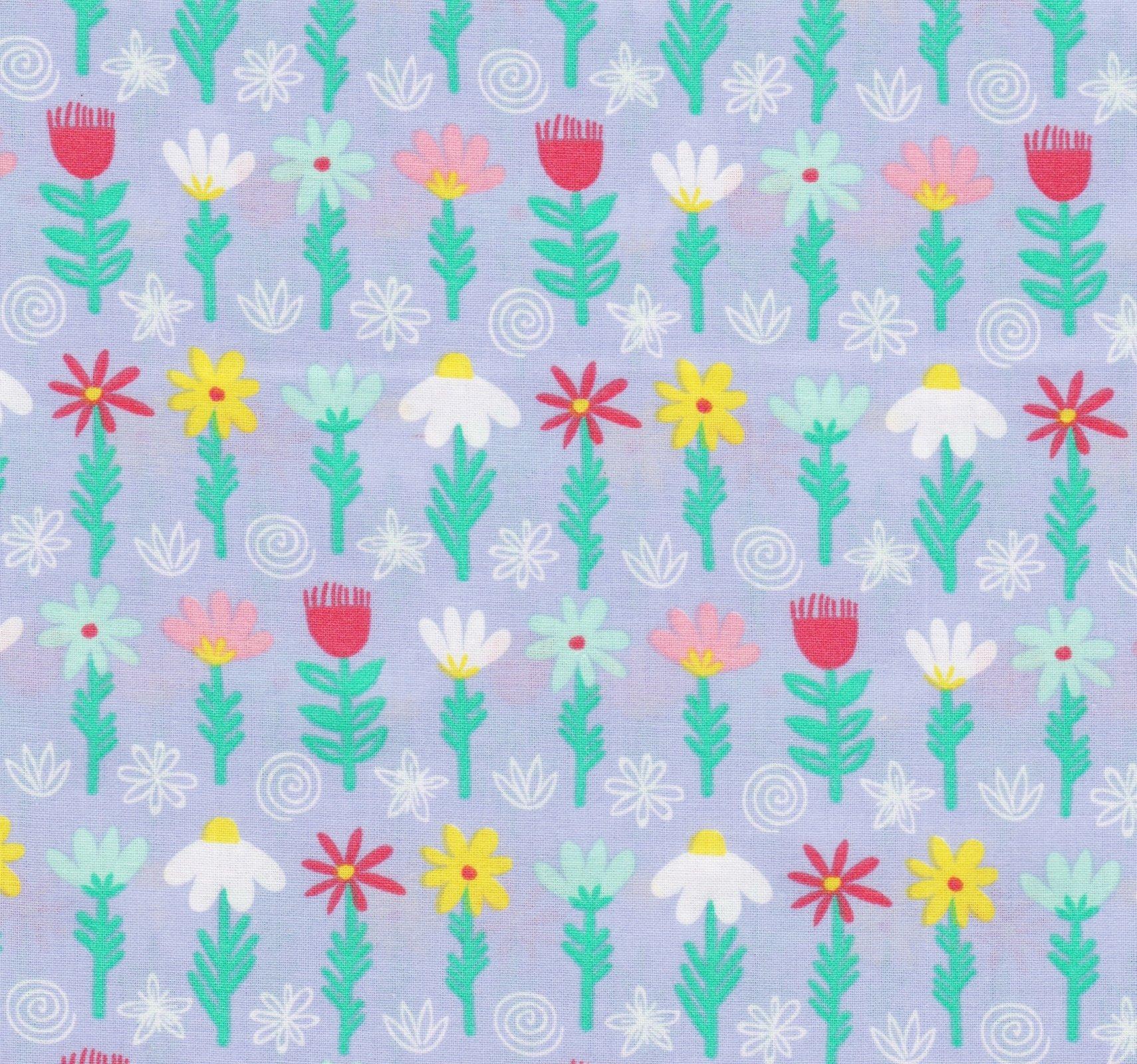 PROMO* FT-Children's Prints 49704 Multi - Flowers