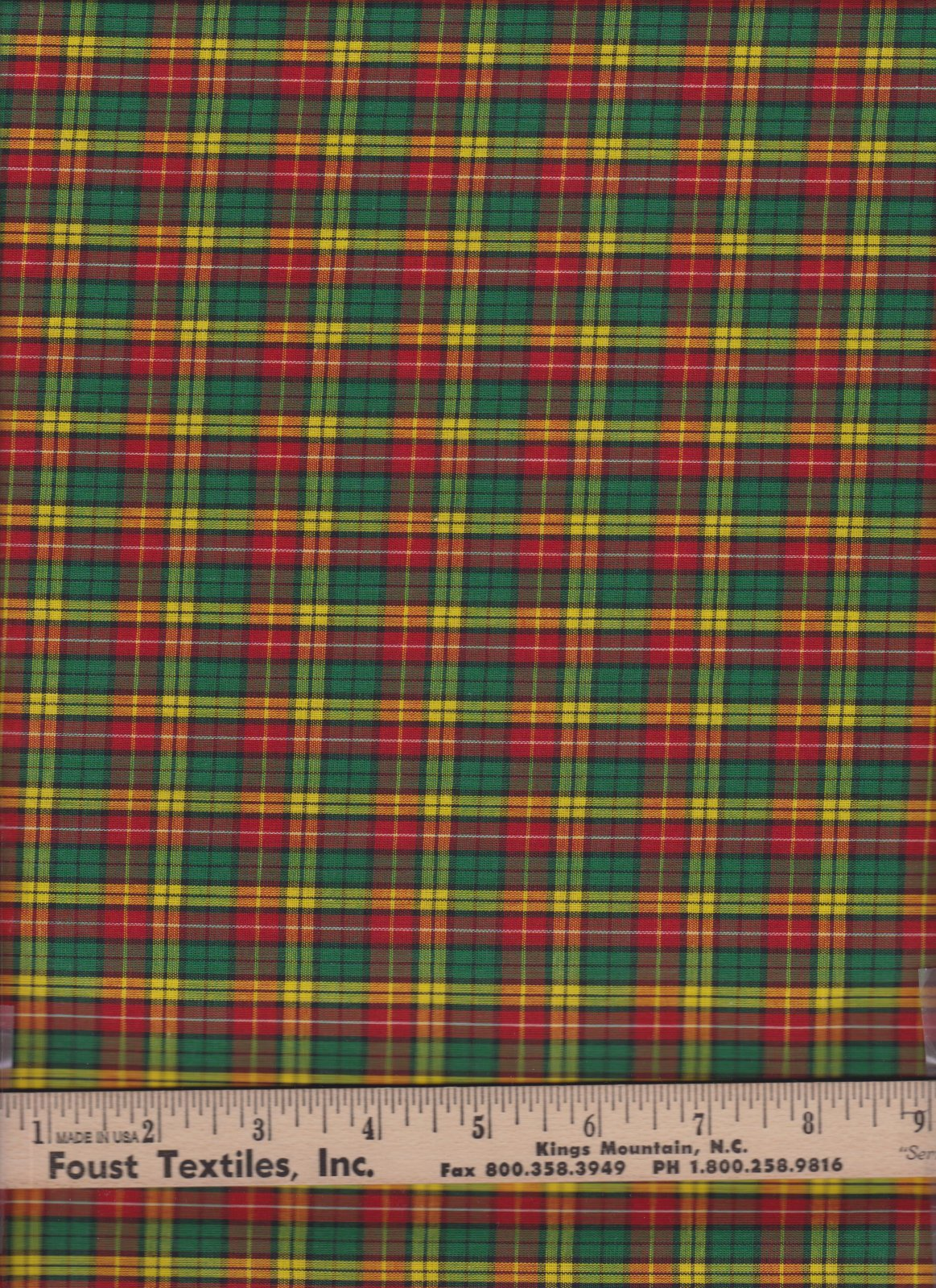 PROMO* TC-Classic Tartan Plaid 17 Fletcher
