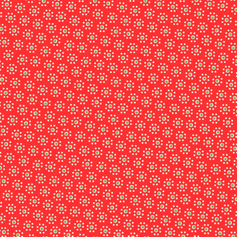 WF-Sugar Sack 50433-1 Red Daisy Dot d974d7b37