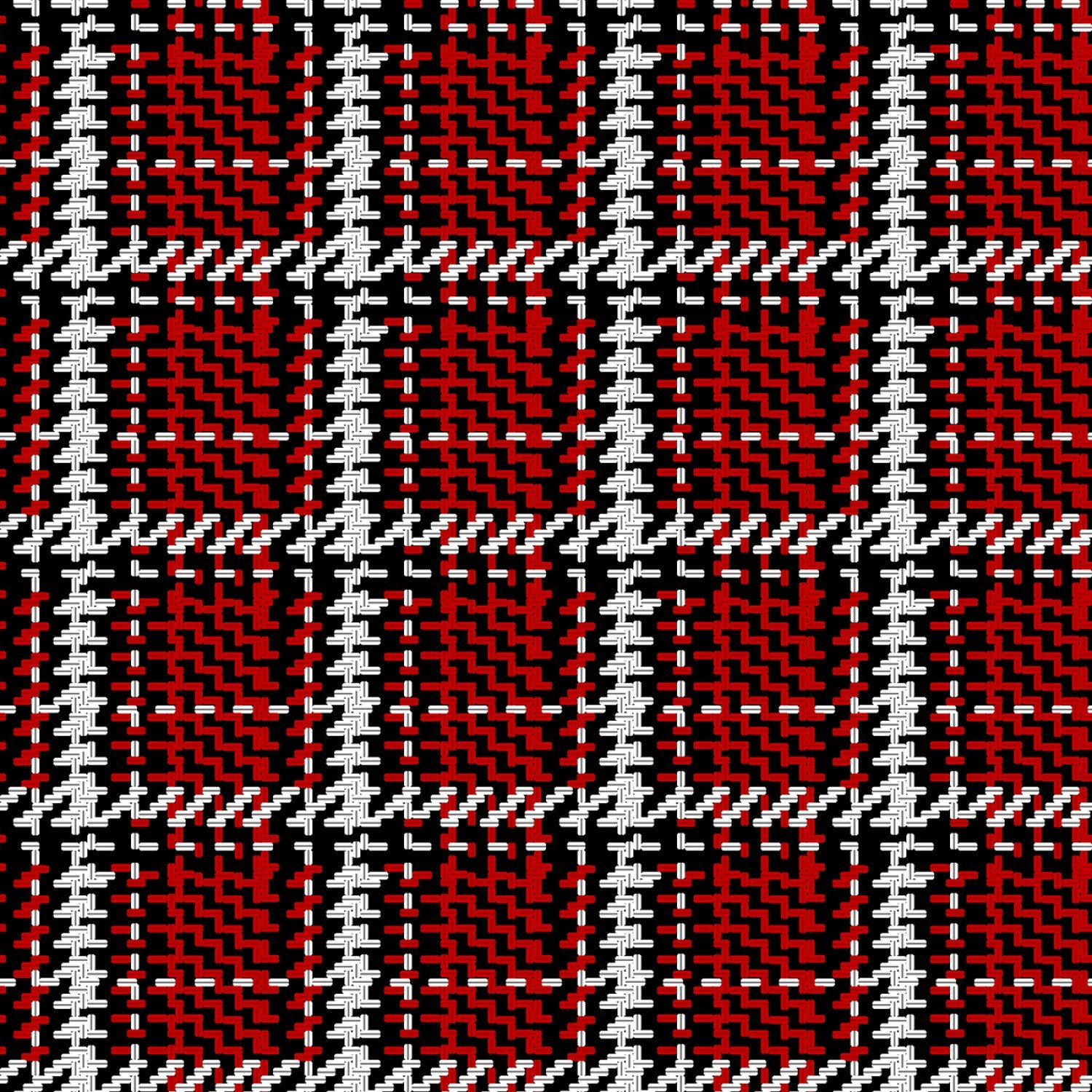 SE-Midwinter Song 5139-88 Red - Woven Plaid