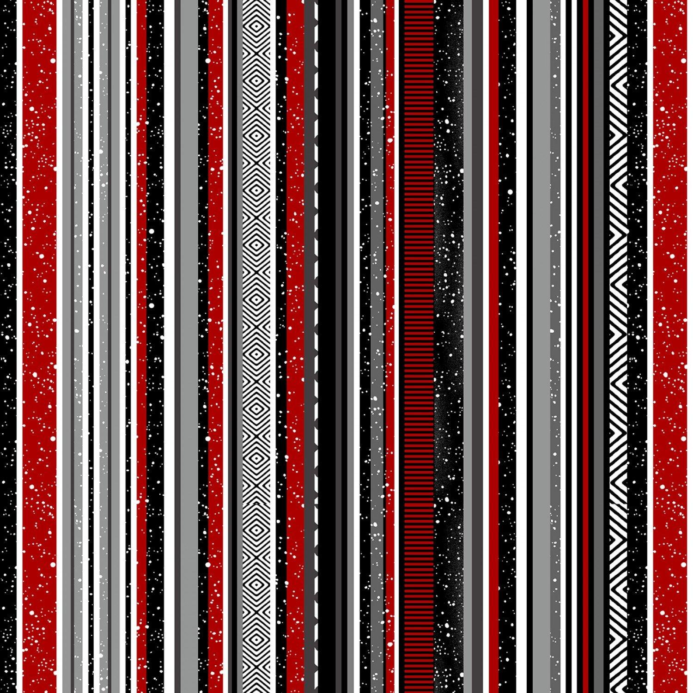 SE-Midwinter Song 5141-98 Black/Red - Stripe
