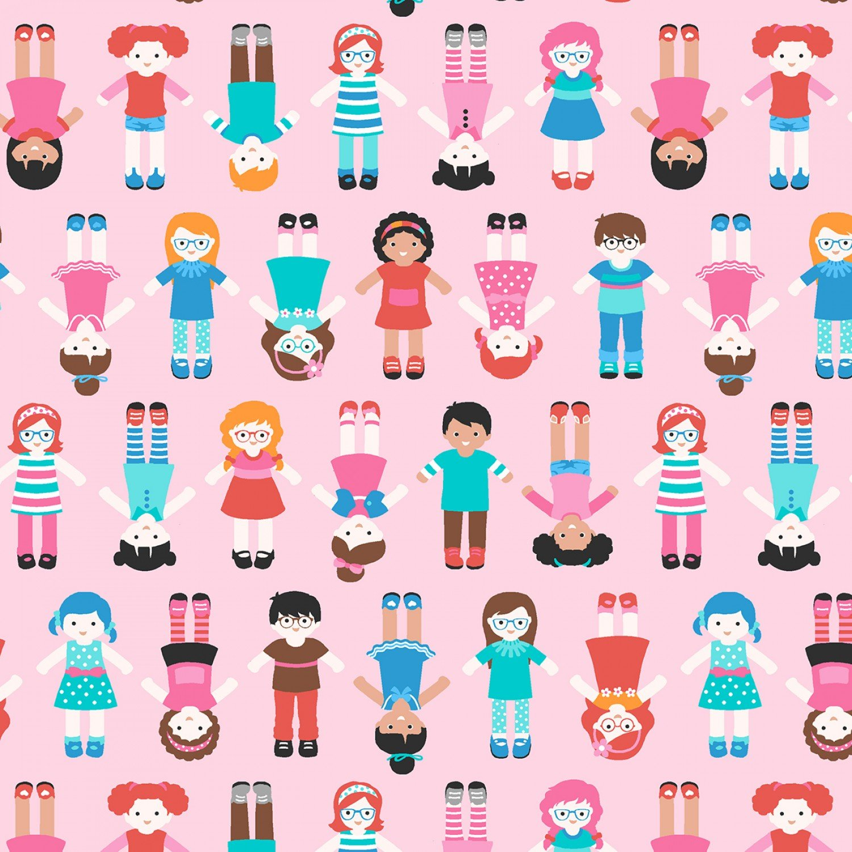 SE-Sew Kind 5223-22 Pink - World Children