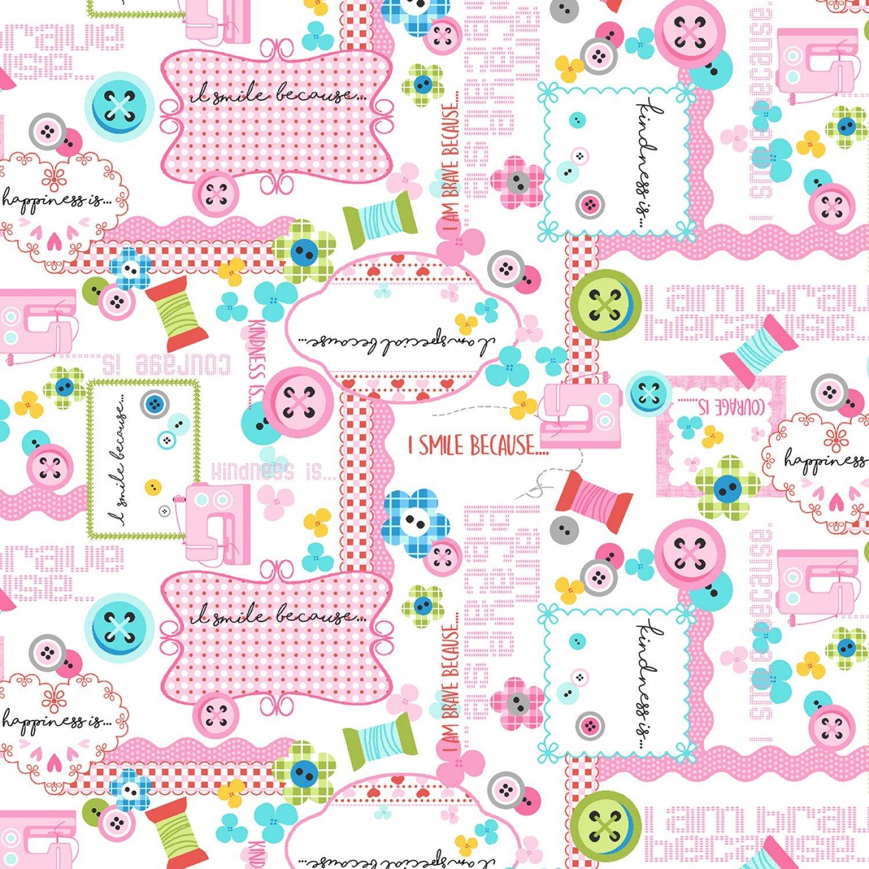 SE-Sew Kind 5224-22 Pink - Collage