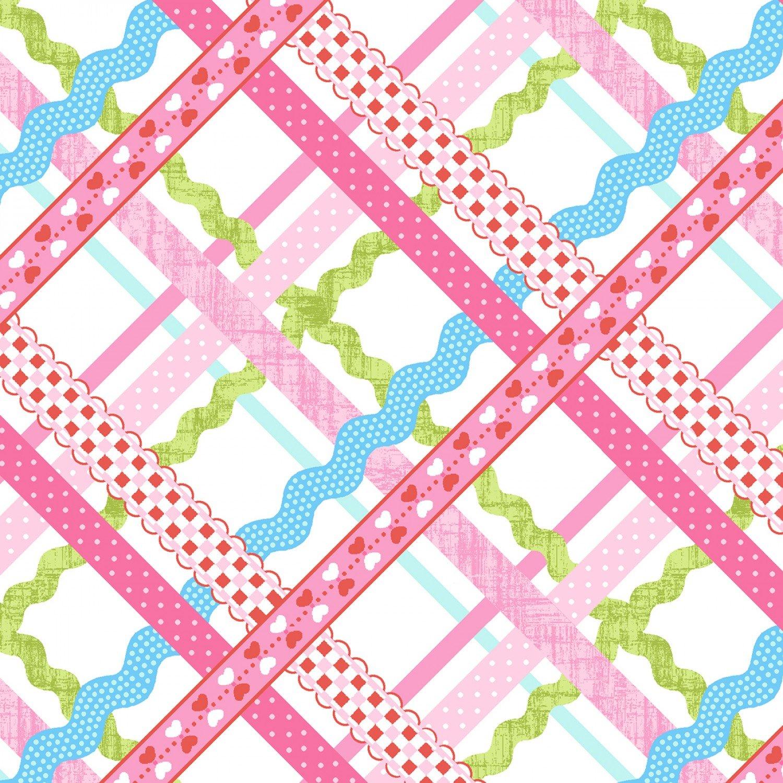 SE-Sew Kind 5226-22 Pink - Rick-Rack Plaid