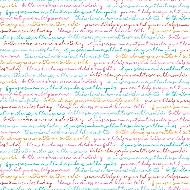 SE-Sew Kind 5229-21 Multi - Sentiments