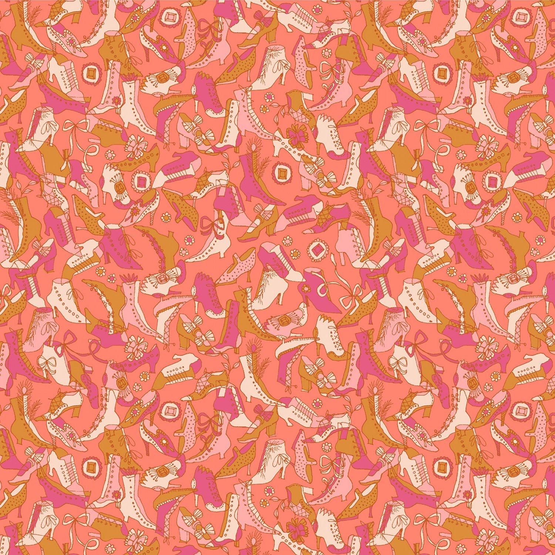 WF-Fancy 52669-10 Orange - OMG Shoes