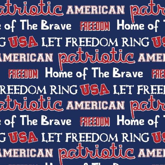 PROMO* SC-Patriotic 56686 USA Words